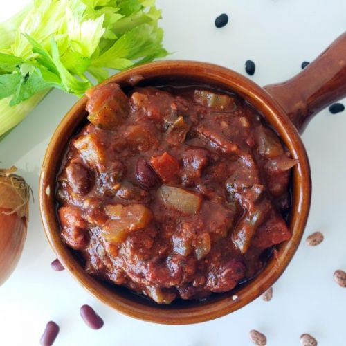 Protein-Packed Crockpot Chili