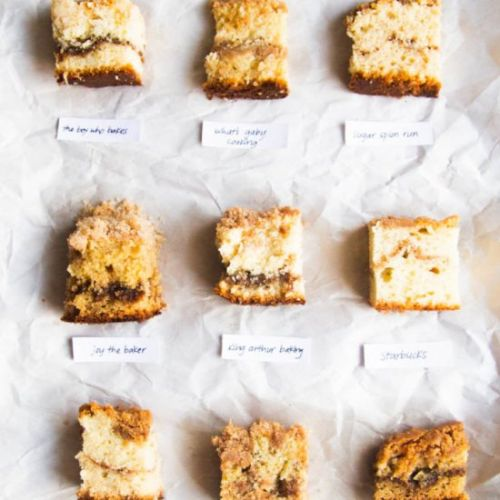 Best coffee cake bake off
