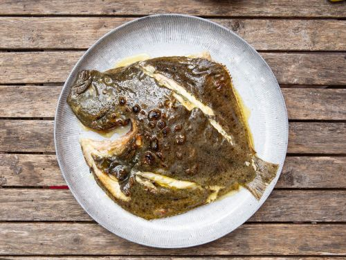 Basque-Style Grilled Whole Turbot