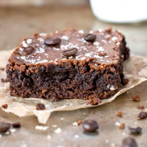 GF Espresso Sea Salt Brownies