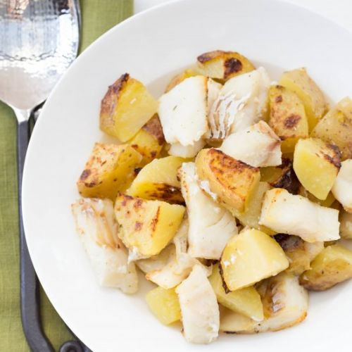 Easy Potato and Cod