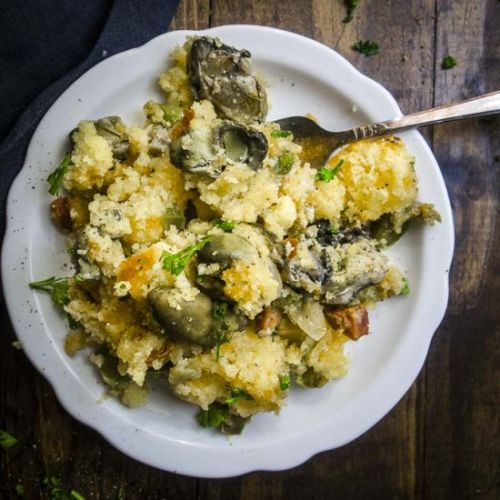 Easy Oyster Stuffing