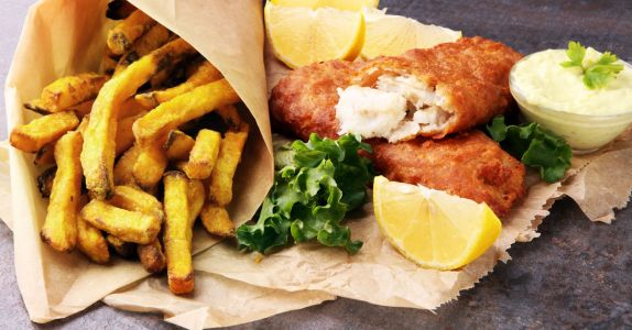 Raising a Glass to Fish and Chips, a Beer-Battered British Icon