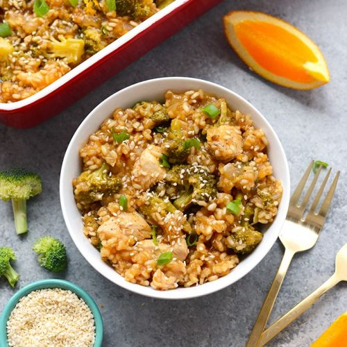 Easy Orange Chicken Casserole