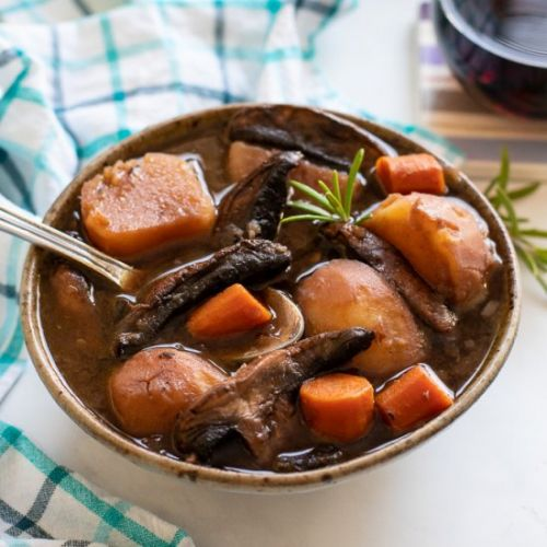 Instant Pot Portobello Pot Roast