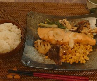 Dinner at Home 1 Baked Salmon With Miso Butter