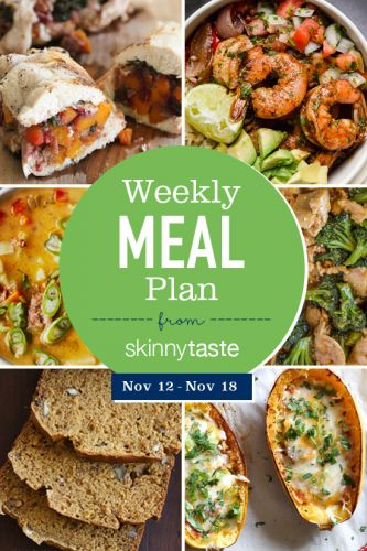Simply Recipes 2018 Meal Plan: November Week 2