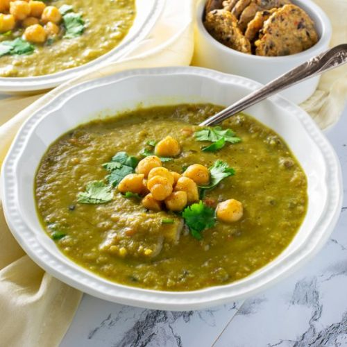 Cauliflower Wild Rice Curry Soup