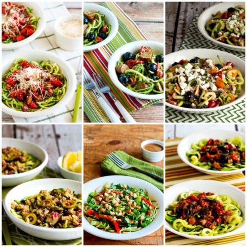 Low-Carb and Keto Recipes with Zucchini Noodles