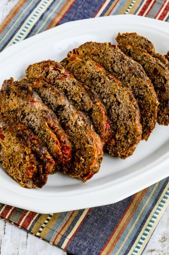 Grain-Free Beef and Sausage Meatloaf