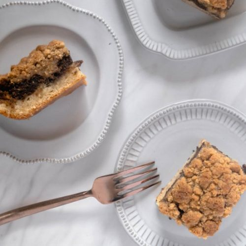 Coffee and Cardamom Crumb Cake