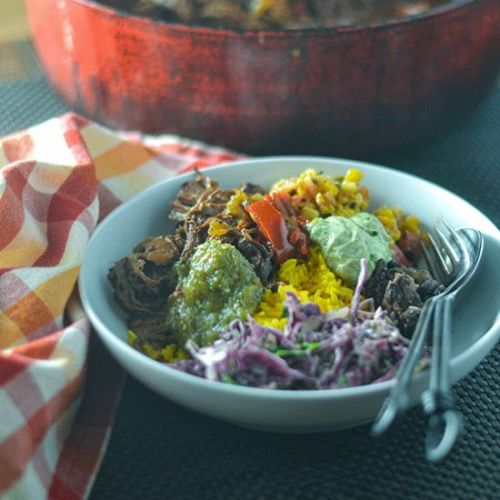 Mexican Pot Roast Bowl