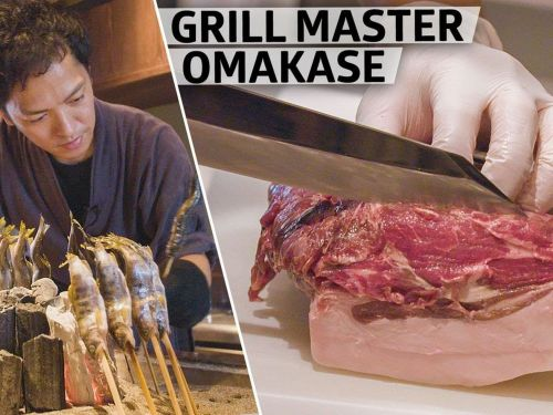 Tokyo's Tadenoha Specializes in Boar, Duck, and Bear Meat Cooked Over an Open Fire Grill