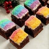 The Home Edit's Gingerbread Brownie With Eggnog Frosting Recipe Looks So Freakin' Good