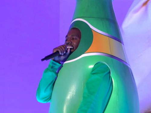 'SNL' Highlights: Perrier Bottle Kanye and Burger King's Coffee Stunt