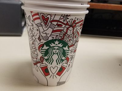 Is This the New Starbucks Holiday Cup Design?