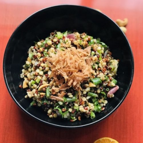 3 Millet Salad with Green Beans