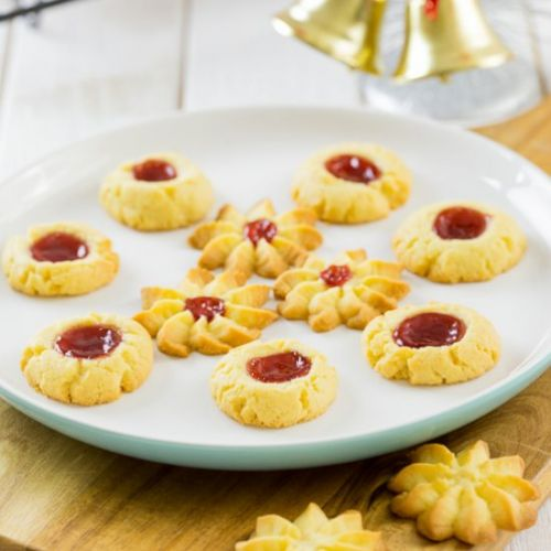 Butter and Jam Cookies