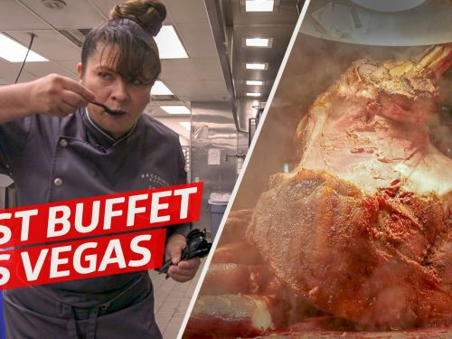 Watch: How One Chef Runs the Biggest Buffet in Las Vegas