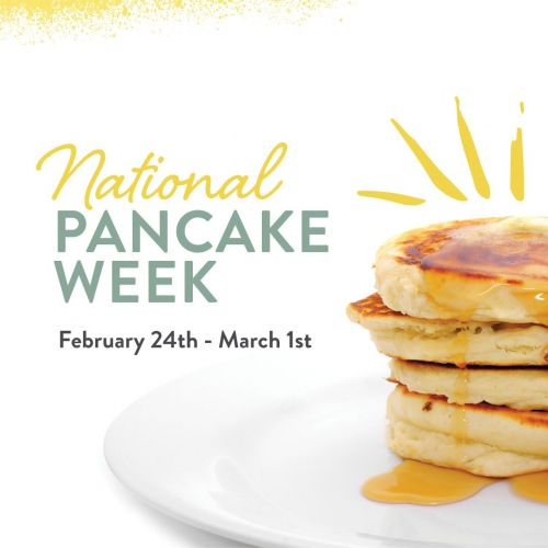 Sunny Street Café Celebrates National Pancake Week Feb 24 - Mar 1