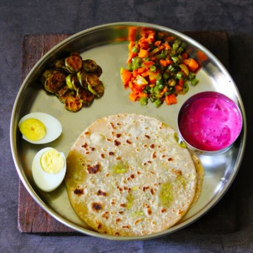 Healthy Indian Lunch Plan Series