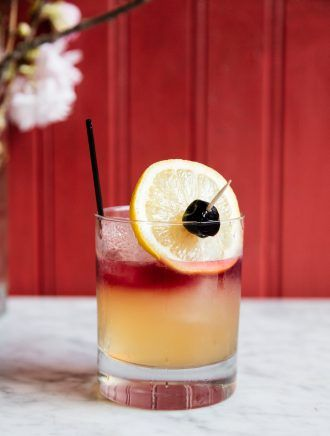 Cherry Point Sour Cocktail