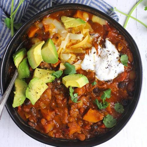 3-Bean Pumpkin Chili