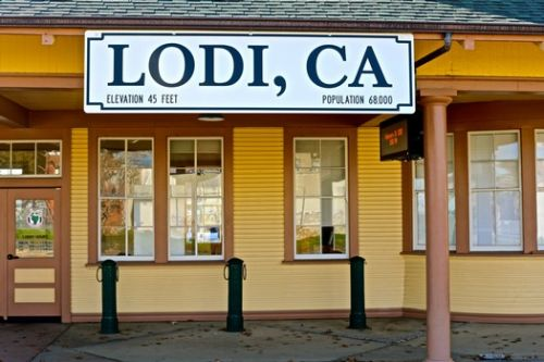 Historic Lodi buildings and images