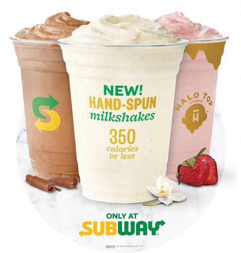 Subway Restaurants and Halo Top Creamery are Shaking Things Up With an Exclusive Partnership Featuring Hand-Spun Milkshakes