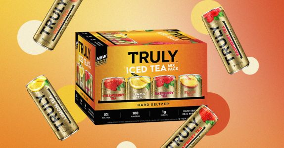 Truly Announces 4 Iced Tea Hard Seltzers