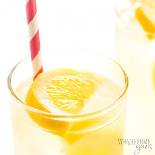 HEALTHY SUGAR-FREE LEMONADE