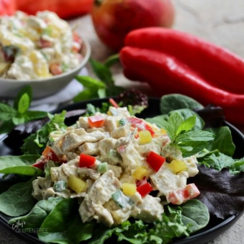 Easy Chicken Salad with Mango