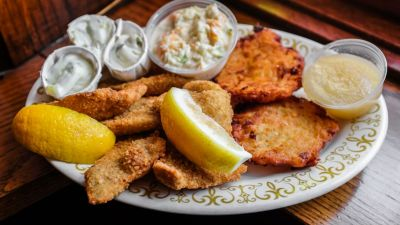 The Simple Golden Crunch of a Wisconsin Fish Fry