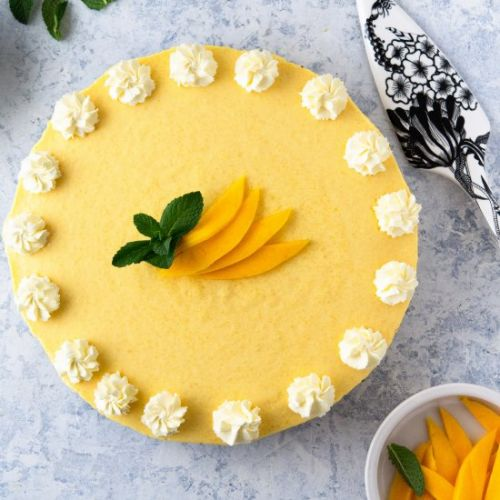 No-Bake Mango Pie