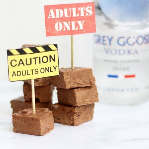 Vodka Fudge
