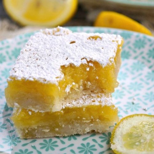 GLUTEN FREE LEMON BARS