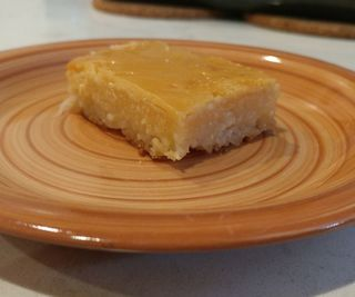 Cassava Cake with Macapuno