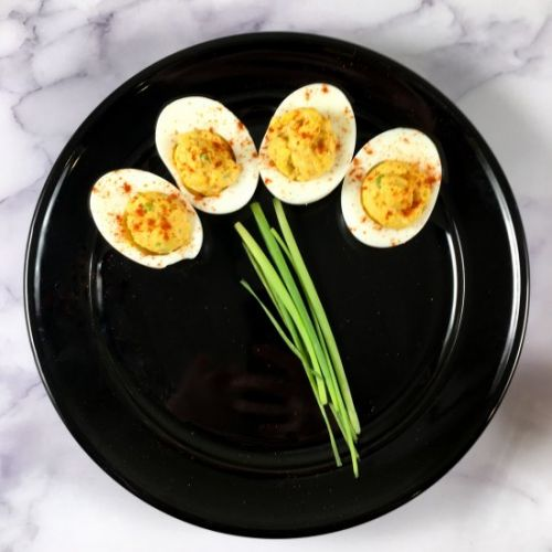 Deviled Eggs w/ Chipotle Lime Mayo