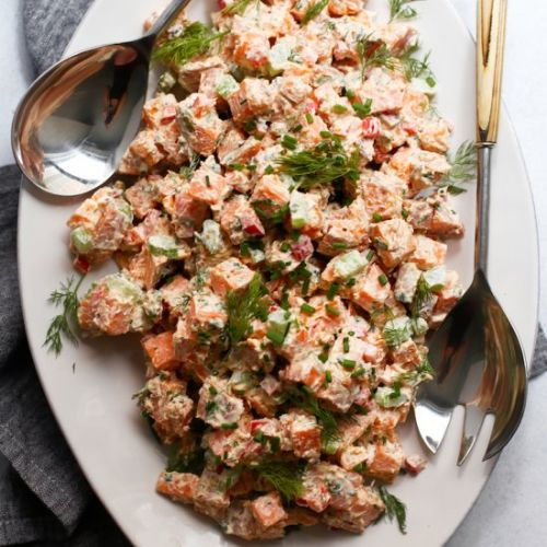 Healthy Sweet Potato Salad