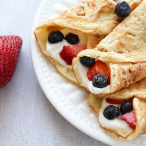 Coconut Crepes Recipe