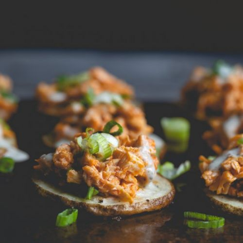 Healthy Buffalo Chicken Sliders