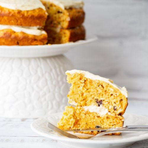 Carrot Cake with an Orange Twist