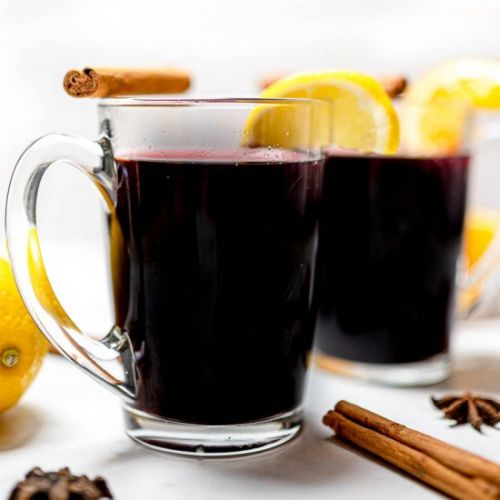 Vanilla Chai Spiced Mulled Wine