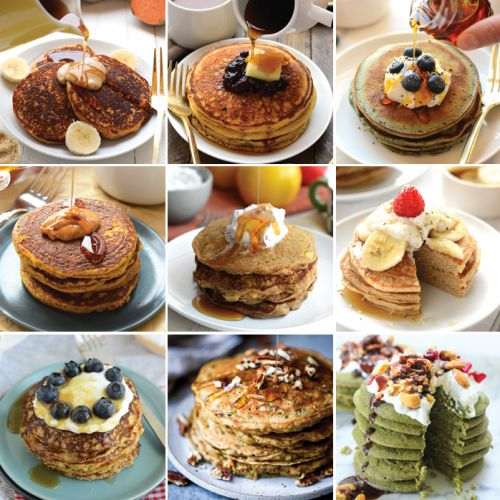 The Best Healthy Pancakes on the Internet