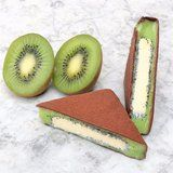 1 Bite of This Insane Kiwi Sorbet Bar Will Leave You All Fuzzy Inside