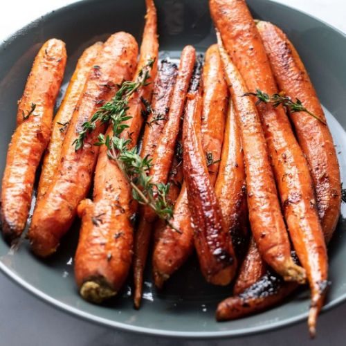 Butter & Thyme Roasted Carrots