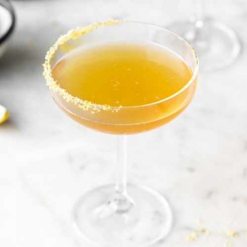 Maple bourbon sidecar