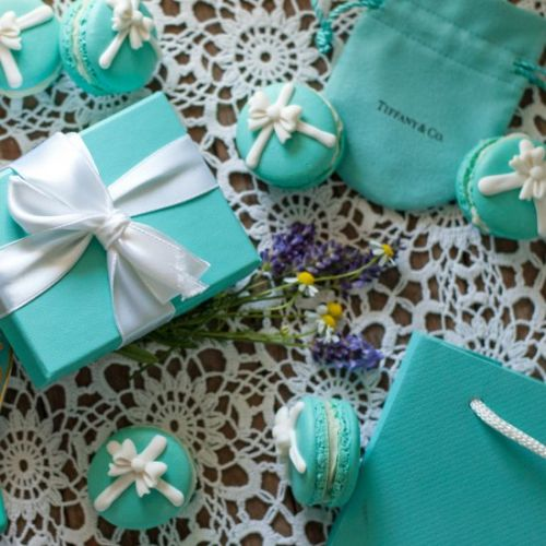 Tiffany & Co. French Macarons