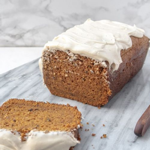 Best Vegan Bourbon Pumpkin Bread