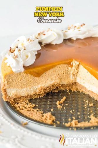 Pumpkin New York Cheesecake Recipe